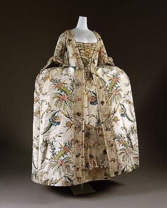 1740s robe a la francaise