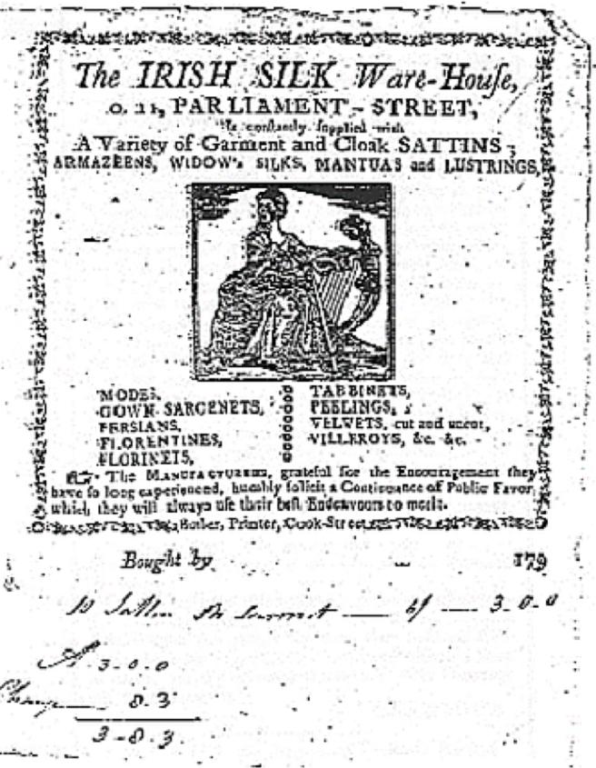 1779 irish silk
