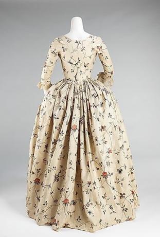 1785 robe a la anglaise