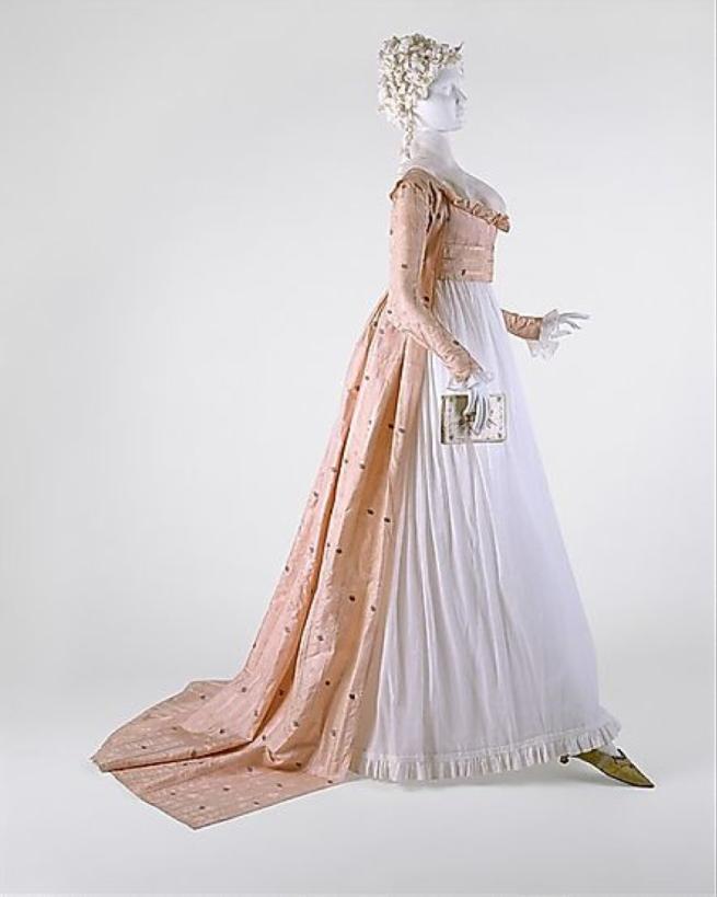 1790s dress
