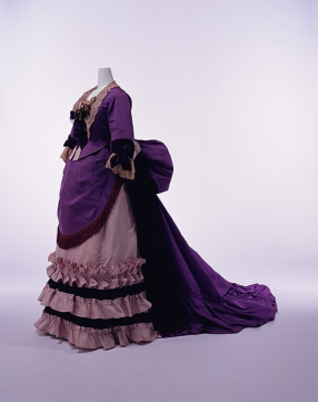 1870 bustle dress