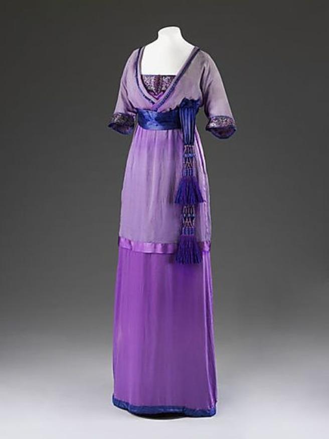 1912 lucille dress v&a