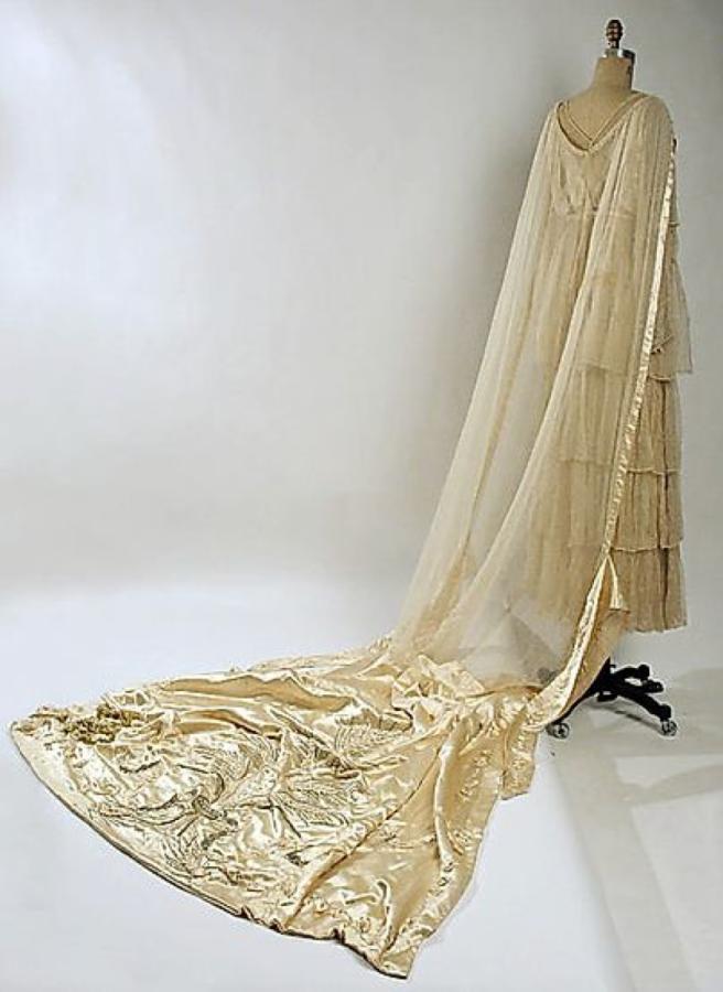1915 wedding dress lucille