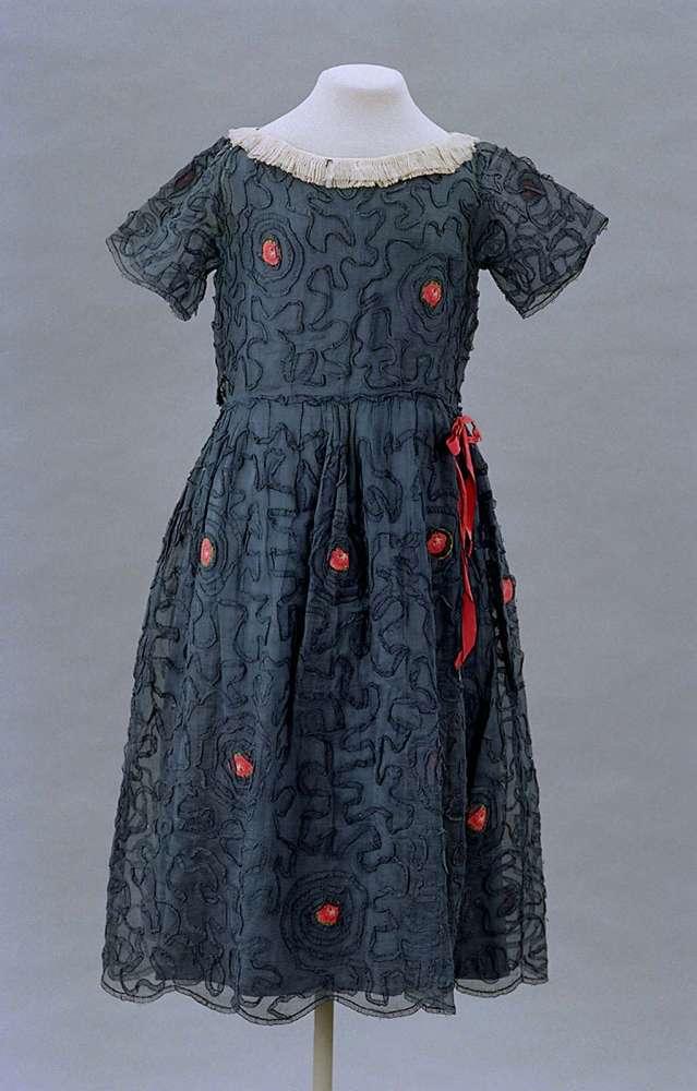lanvin 1922 childs dress