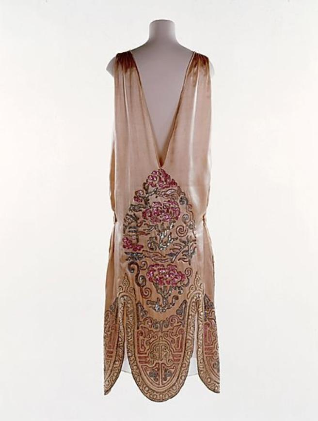 norman hartnell 1924 evening dress