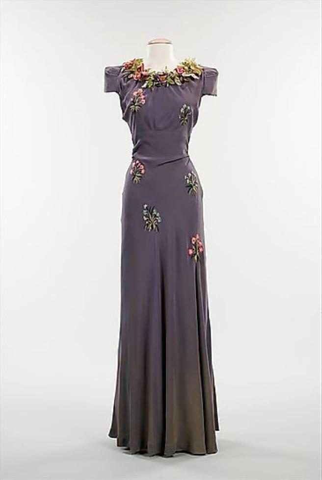 schiaparelli 1938 gown