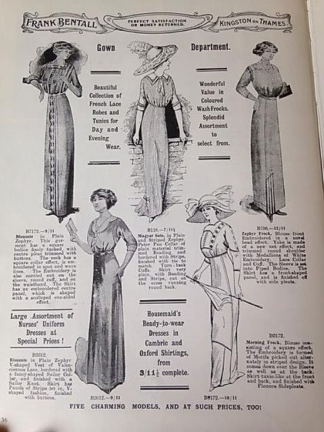 tea gown ad 2