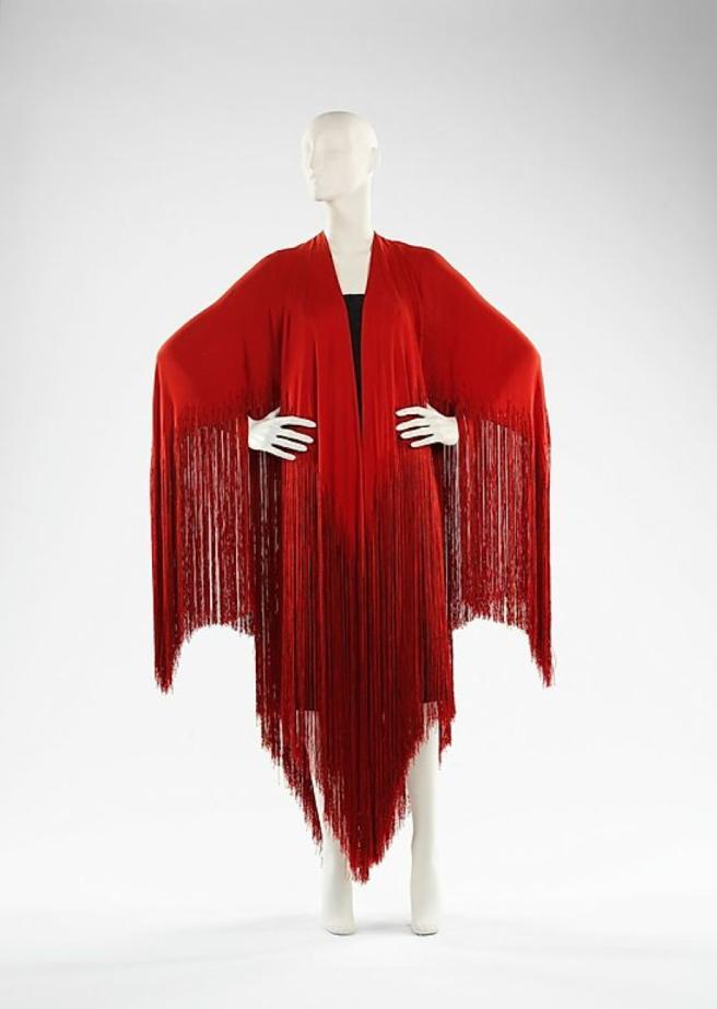 vionnet shawl 1925